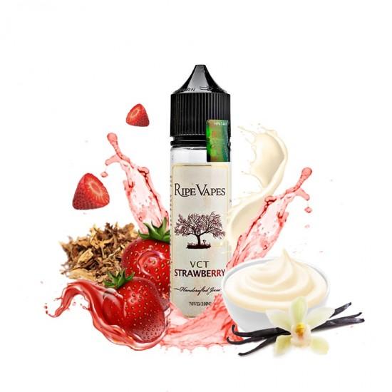 Ripe Vapes Shortfills - VCT Strawberry 50ml to 60ml