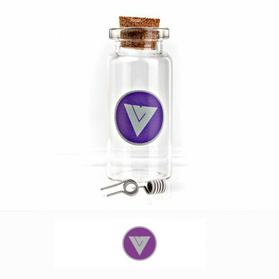 Velvet Vape Premium handmade coils Fused Clapton Ni80 0.3ohm